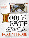 Fool&#39;s Fate (eBook): The Tawny Man Trilogy, Book 3